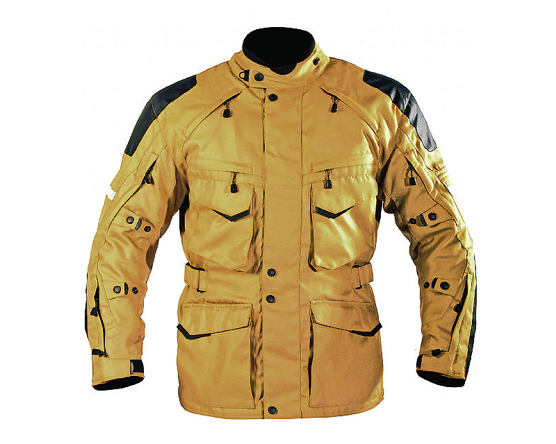 Motonation Apparel Textile Jackets Pursang Tourventure 3/4 Length (Sand - Large) - MNT-TPS-SAND-5L