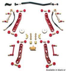 Rancho Rock Crawler Suspension System 2.5in Lift Jeep Wrangler TJ Competition 97-06 - RS6505