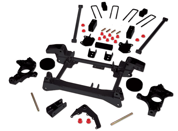 Rancho Suspension System 4in-2.5in Lift GMC Sierra 1500 HD 01-06 - RS6550