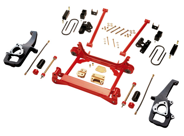 Rancho Suspension System with Dual Shock Option 3in-2in Lift Dodge Ram 1500 00-01 - RS6565