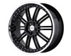 Redbourne Marques 20X9.5 5x120 32mm Gloss Black Machined Lip