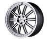 Redbourne Marques 20X9.5 5x120 32mm Gunmetal Machined Face & Lip