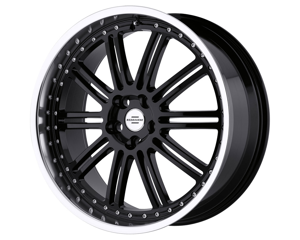Redbourne Marques Wheels 22X9.5 Gloss Black Machined Lip