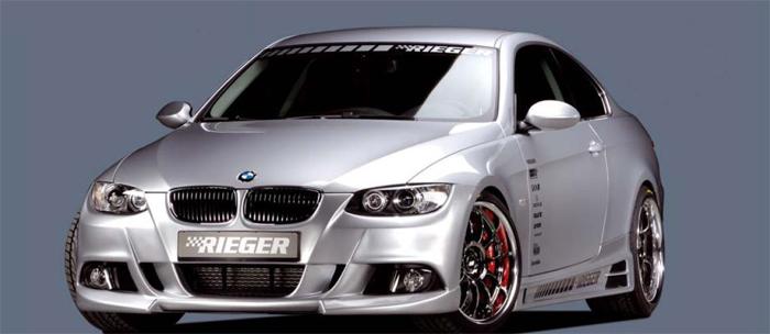 Rieger Front Bumper w/ Mesh BMW E92 & E93 07-11 - R 53432