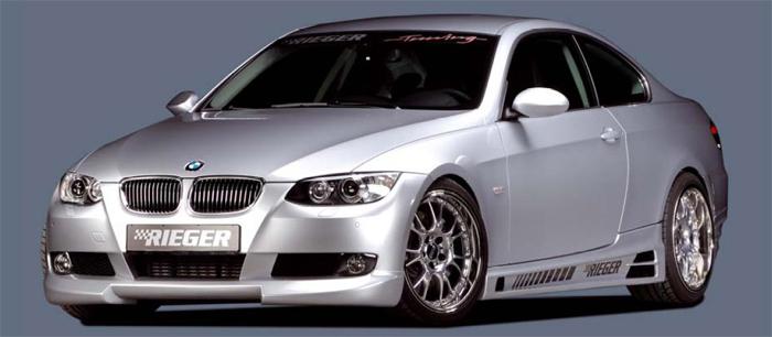 Rieger Front Lip Spoiler BMW E92 & E93 07-11 - R 53430