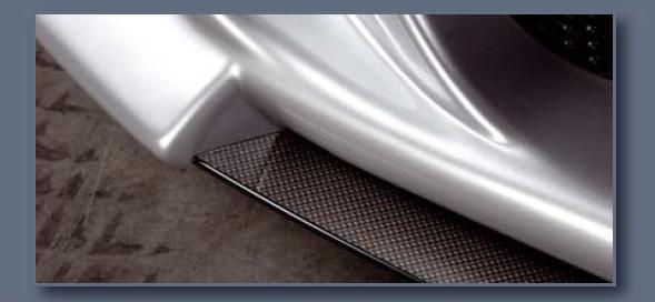 Rieger Carbon Look DTM Center Splitter for Bumper BMW E92 & E93 07-11 - R 99565