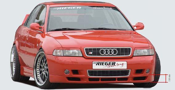 Rieger Type 8E Look Front Lip Spoiler Audi A4 B5 Euro Spec 99-01 - R 55017