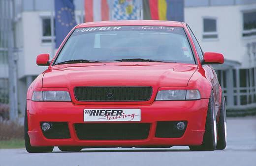 Rieger RS4 Look Front Bumper w/ Fog Brackets Audi A4 B5 95-01 - R 55028