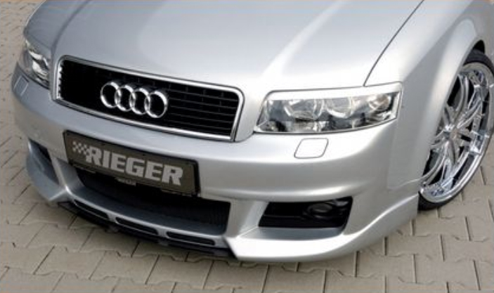 Rieger New Design Front Bumper w/ Intakes & Washers Audi A4 B6 Type 8E 02-05 - R 55237