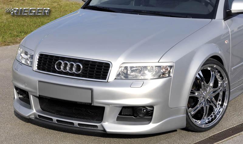 Rieger New Design Center Splitter for Front Bumper Audi A4 B6 Type 8E 02-05 - R 55239