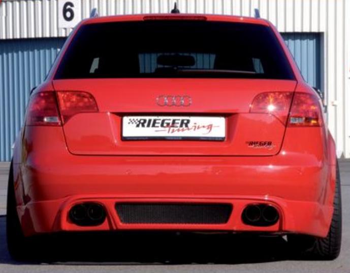 Rieger Rear Apron Diffuser Audi A4 B7 Type 8E 05-08 - R 55226