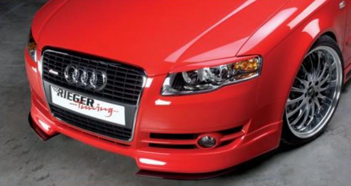 Rieger Carbon Look DTM Front Splitter for Front Spoiler Audi A4 B7 Type 8E 05-08 - R 99033
