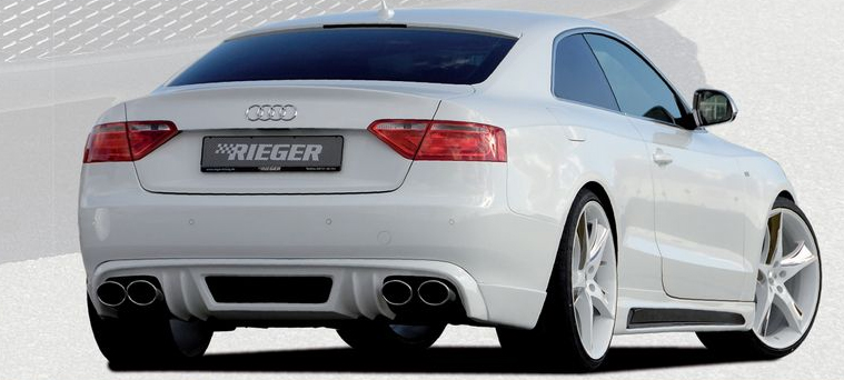 Rieger Left Side Skirt w/ Air Intake Audi A5 & S5 B8 08-16 - R 55404