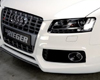Rieger Carbon Look Center Splitter for Front Spoiler Audi S5 B8 & S-Line 08-12
