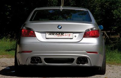 Rieger Rear Apron Diffuser w/ mesh BMW 5 Series E60 04-08 - R 53607