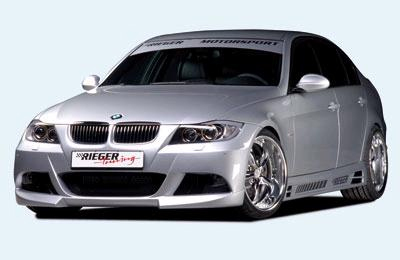 Rieger Complete Body Kit w/ Washers BMW E90 Sedan 06-08 - R 53411.04.05.06