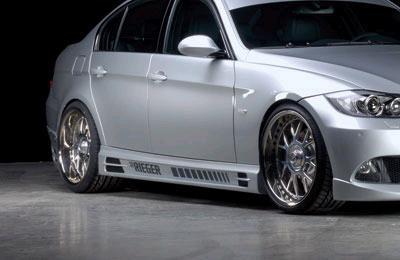 Rieger Side Skirts w/ Air Intakes BMW E90 Sedan 06-08 - R 53404-05