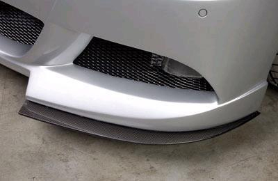 Rieger Front Carbon Look DTM TwoPart Splitter for Bumper BMW E90 Sedan 06-08 - R 99552