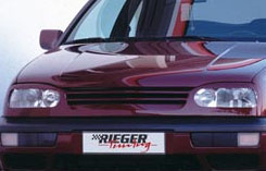 Rieger Infinity Front Grill w/o Emblem Volkswagen Golf III 93-99 - R 42014