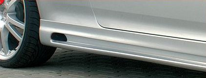 Rieger RS4 Look Left Side Skirt w/ Cut Out Volkswagen Jetta V 05+ - R 59334
