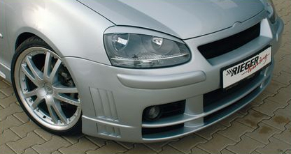 Rieger Front Bumper w/ Gills & HWS Volkswagen Golf V 05-08 - R 59330