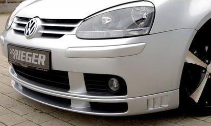 Rieger Front Lip Spoiler w/ Ribs Volkswagen Golf V 05-08 - R 59300