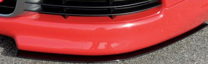 Rieger Carbon Look DTM Splitter 2 Piece for Front Lip Volkswagen Golf GTI V 05-08 - R 99729