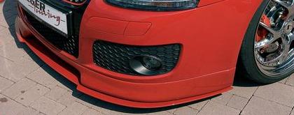 Rieger DTM Splitter Straight for Front Lip Volkswagen Golf GTI V 05-08 - R 59401