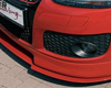 Rieger Carbon Look DTM Straight Bended for Front Lip Volkswagen Golf GTI V 05-08