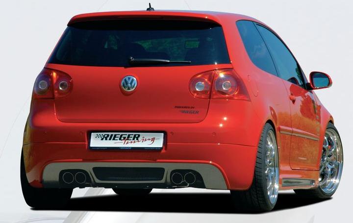 Rieger Rear Skirt Volkswagen Golf GTI V Euro spec 05-08 - R 59408