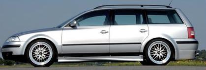 Rieger Infinity Right Side Skirt Volkswagen Passat 3BG Variant 00-05 - R 24017