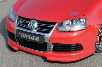 Rieger DTM Splitter 2 Piece for Front Lip Volkswagen R32 MkV 06-08 - R 59421
