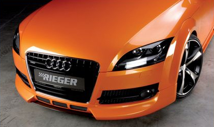 Rieger Center Splitter for Front Spoiler Audi TT 8J 07-12 - R 55151