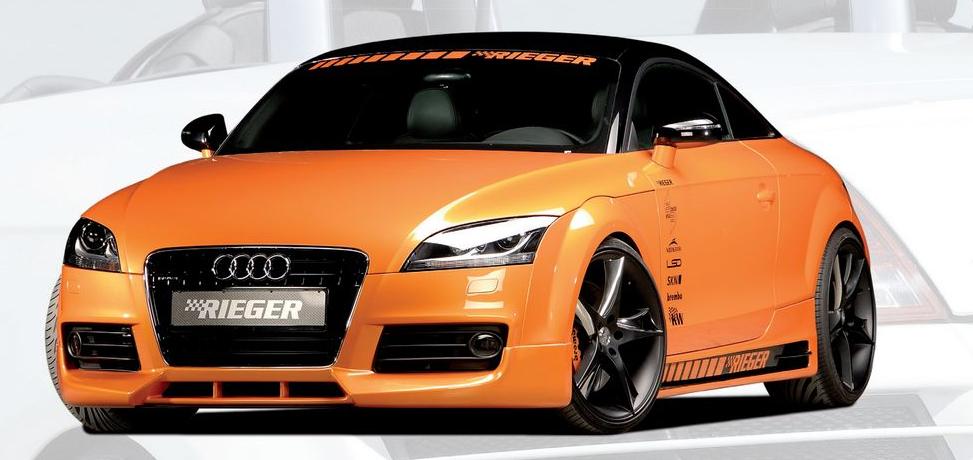 Rieger Front Lip Spoiler w/ 3 Intakes Audi TT 8J S-Line 07-12 - R 55160