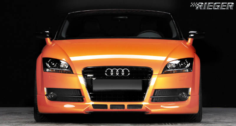 Rieger Carbon Look R-Frame Front Plate Bracket Audi TT Mk1 00-06 - R 99035
