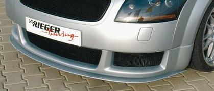 Rieger DTM Front Splitter for RS4 Look Front Spoiler Audi TT 8N 00-06 - R 55117