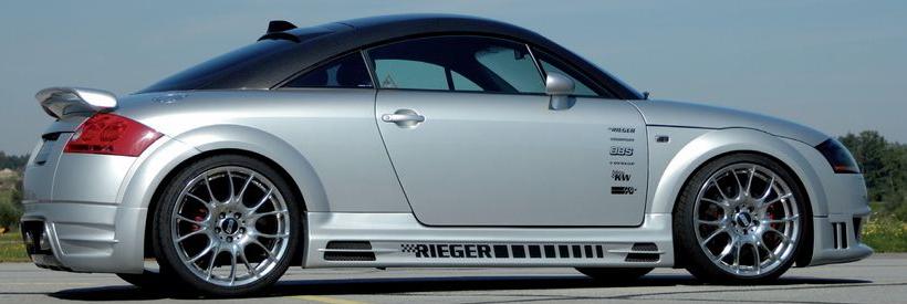 Rieger R-Frame Right Side Skirt w/ Air Intakes Audi TT 8N 00-06 - R 55114
