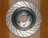 Rotora Front Left and Right Drilled & Slotted Rotor Pair Chrysler 300C SRT8 06 CLEARANCE