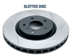 Rotora Rear Left/Right Slotted Rotor Pair Acura CL 98-99