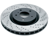 Rotora Front Right Drilled & Slotted Rotor Subaru Legacy GT 05-0