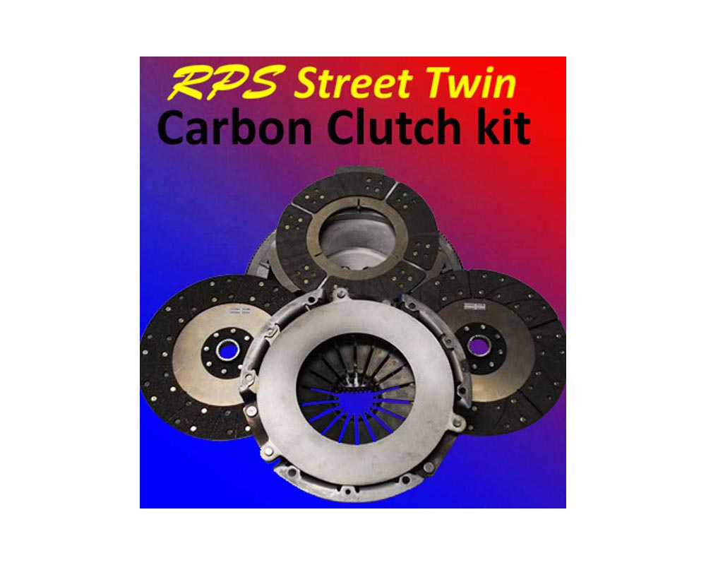 RPS Street Twin Carbon Clutch with Steel Flywheel Chevrolet Corvette C5 97-04 - ST-04LSX-C5