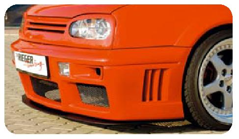 Rieger Air Duct Set for RS4 Front Bumper Volkswagen Golf III 93-99 - R 42039