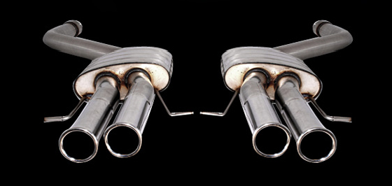 RSC Tuning Veloce Sports Exhaust Bentley Continental GT 03-10 - RSCQSBE1S