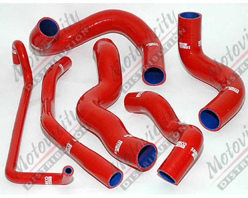 Samco Radiator Hose 6pc Ford Mustang 5.0L w/ AC - TCS25
