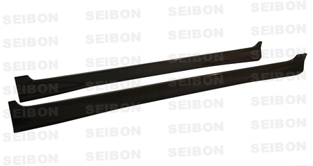 Seibon Carbon Fiber MG-Style Side Skirts Honda Fit 07-08 - SS0708HDFIT-MG