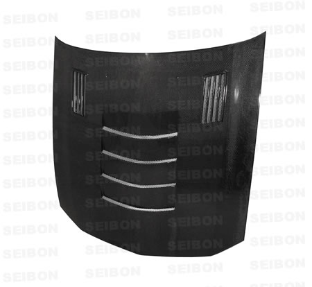 Seibon Carbon Fiber SSII-Style Hood Ford Mustang 05-08 - HD0506FDMU-SSII