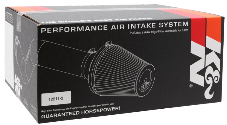 K/&N 69-3530TS Performance Air Intake System