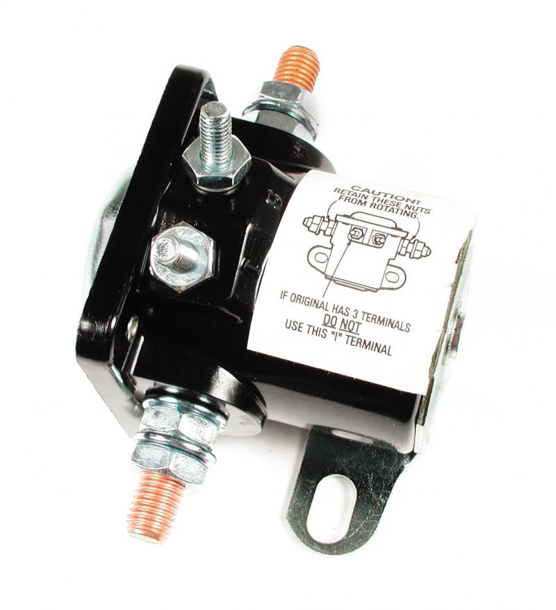 Accel Ultra-Tork Solenoid; Fender/Firewall Mounted Solenoid;  Ford