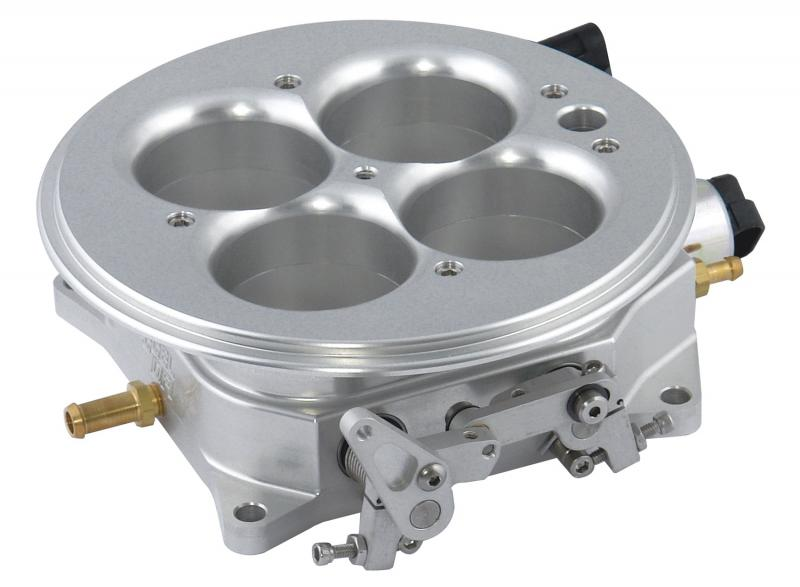 Accel Dominator 4500 Series Flange; 2100 cfm; w/Idle Air Control And Throttle Positive