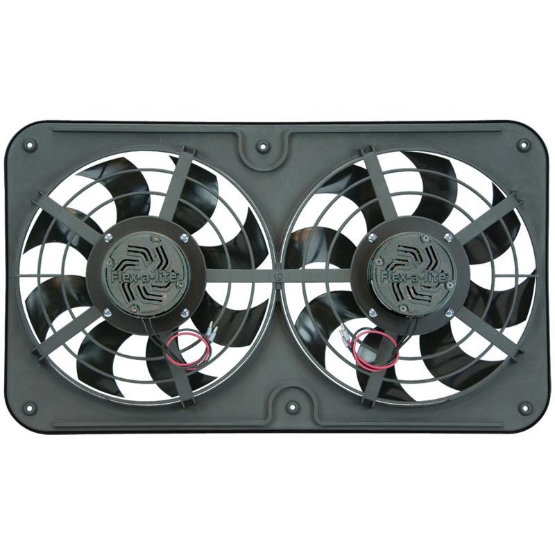 "Flex-A-Lite Fan Electric 12 1/8"" Dual Push/pull Universal"